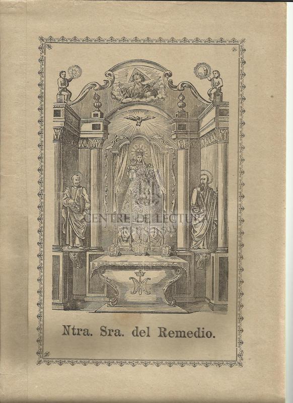 Gozos de Nuestra Señora del Remedio que se cantan en su capilla contiguá la villa de Caldas de Montbuy