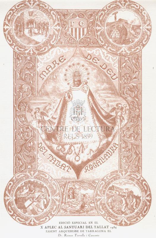Goigs a Nostra Mare Santíssima la Verge Maria d'El Tallat venerada al seu antic Santuari i a la Parròquia de Rocallaura.