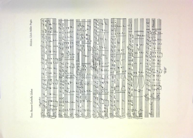"""Goigs a Sant Ramon Nonat que es canten a la seva capella de """"Coma de llop"""" Xalets Martí, d'Albió prop del balneari de Vallfogona de Riucorb Arquebisbat de Tarragona."""