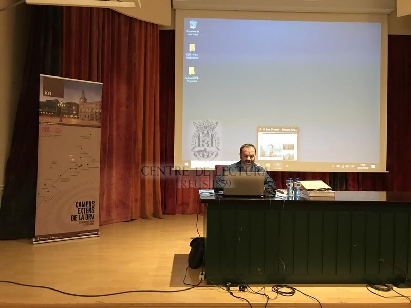 Conferència del cicle &quot;Cinema, política i comunicació&quot; a càrrec de Josep M. Bunyol<br /><br /> <br /><br /> <br /><br />