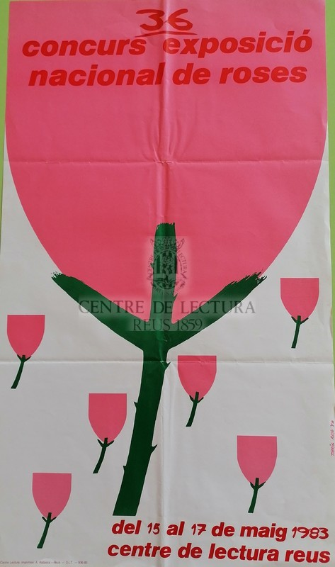 36 Concurs-exposició nacional de roses