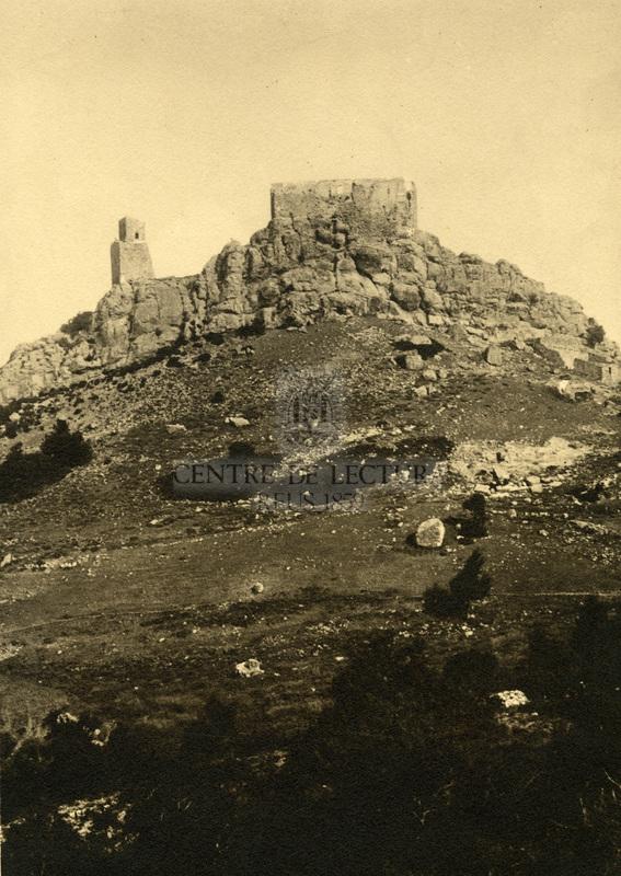 Castell al cim d'una muntanya