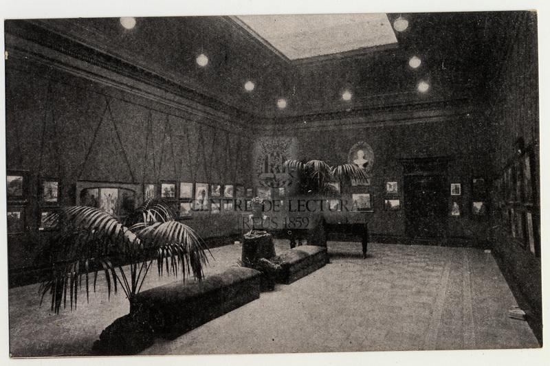 Exposició de pintura a la Sala Fortuny del Centre de Lectura de Reus