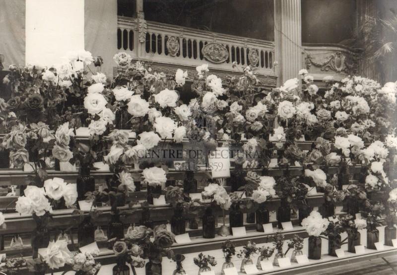 Catorzè Concurs Exposició Nacional de Roses del Centre de Lectura de Reus l'any