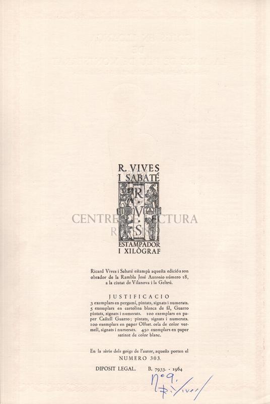 Goigs en lloança de la Mare de Déu de Montserrat. Venerada a l'Església Parroquial de Sant Joan, de la Ciutat de Reus