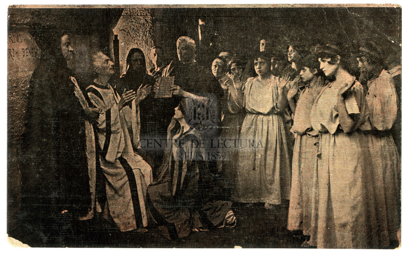 "Representació de la pel·lícula ""Fabiola o los mártires cristianos"""