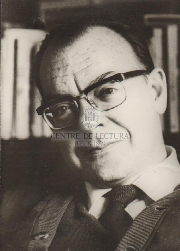 Retrat de Josep M. Ainaud de Lasarte