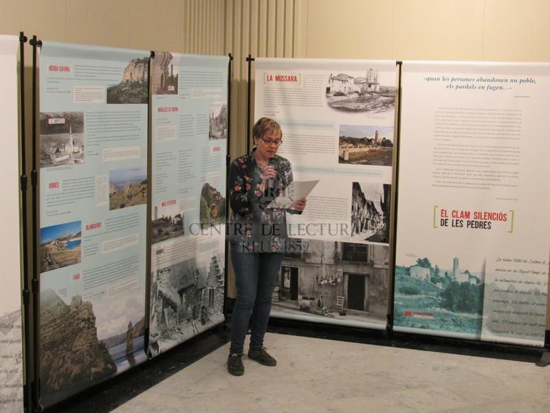Inauguració de l'Exposició Patrimoni oblidat. Memòria literària