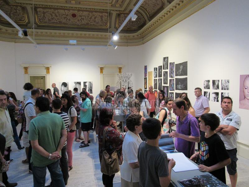 Inauguració de l'exposició dels treballs dels alumnes del batxillerat artístic de l'Institut  Gabriel Ferrater de Reus
