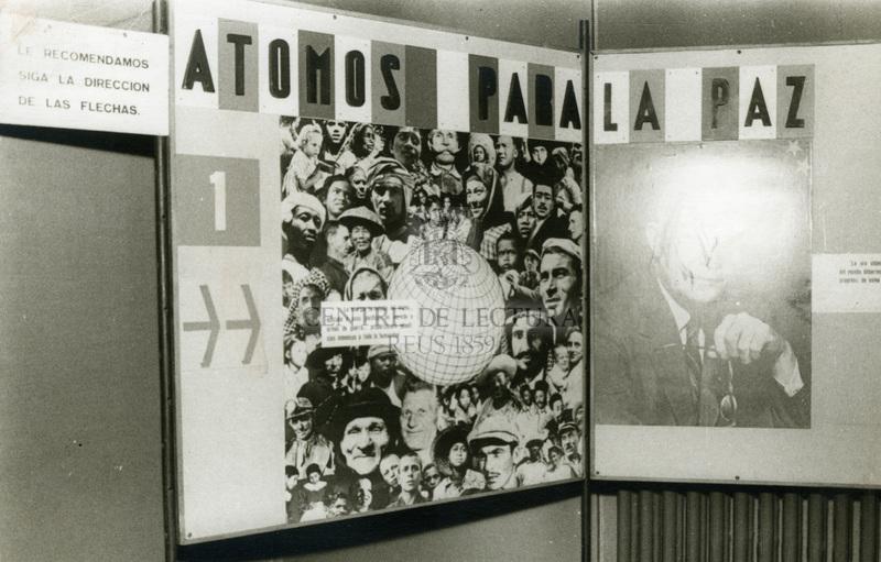 """Exposició """"Átomos para la paz"""""""