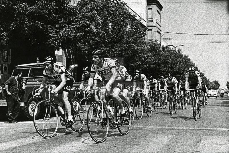 Grup de ciclistes