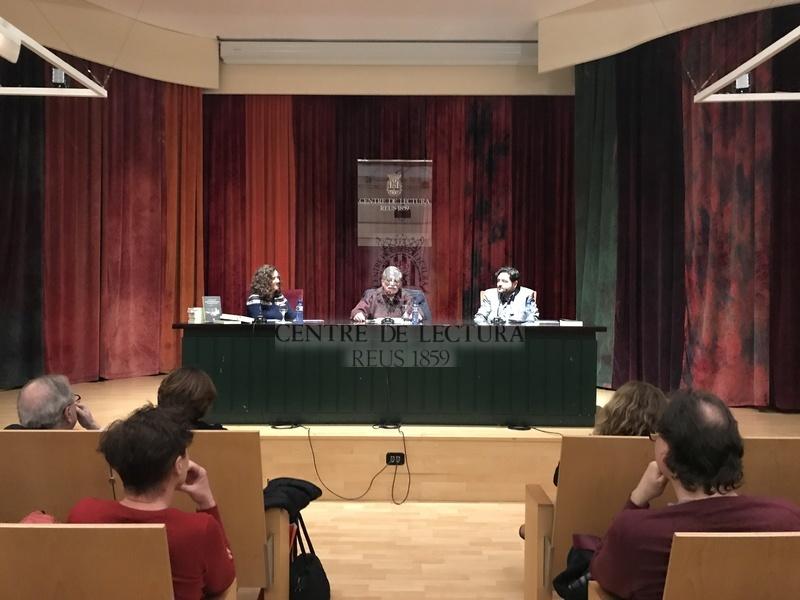 """Presentació del llibre """"Escrits sobre Eugeni d'Ors per entendre la seva obra"""" de Josep Murgades"""
