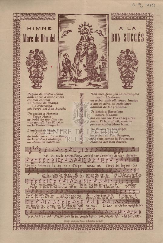 Himne a la Mare de Déu del Bon Succés