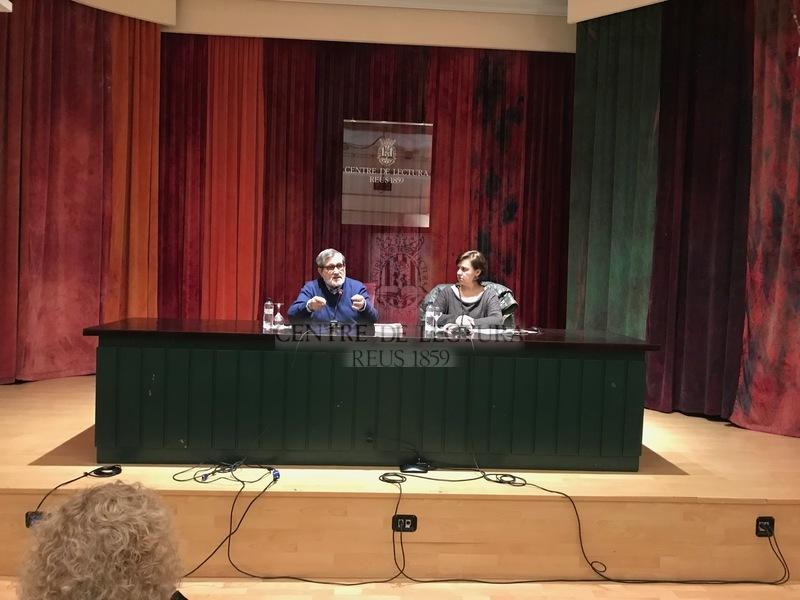 """Presentació del llibre """"Joan Miró i Mont-roig. El xiscle de l'oreneta 1930-1983"""", de Martí Rom"""