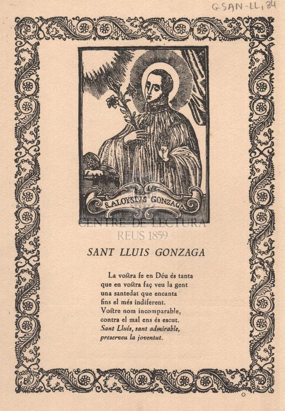 Sant Lluís Gonzaga