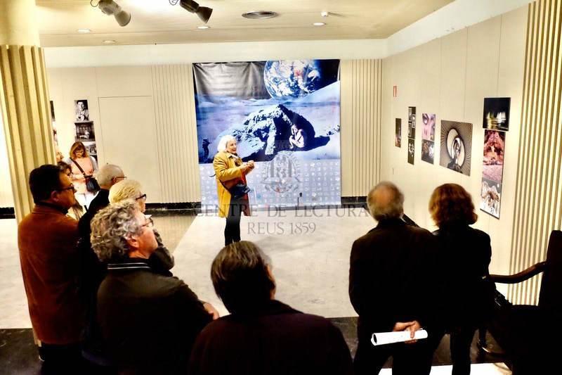 """Inauguració de l'exposició """"Joaquim Cabezas. Viure la fotografia"""""""
