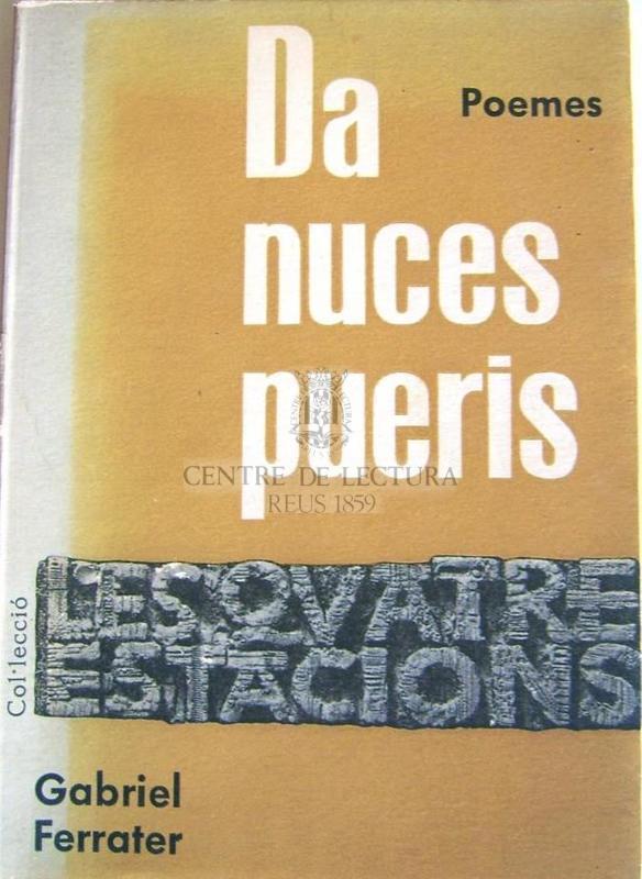 Da nuces pueris : poemes