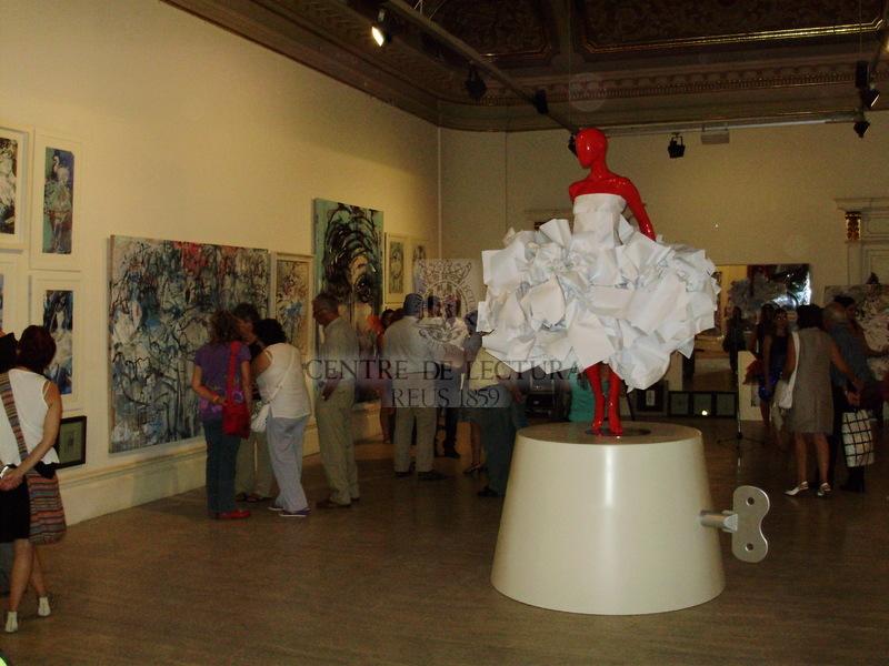 """Exposició """"Benvinguts a l'espectacle"""", de David Callau"""