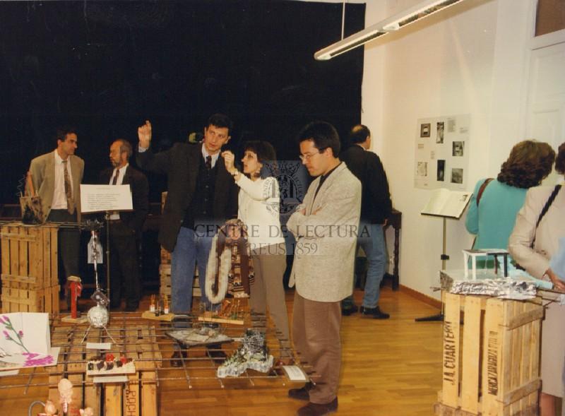 """Inauguració de l'exposició """"In memoriam"""""""