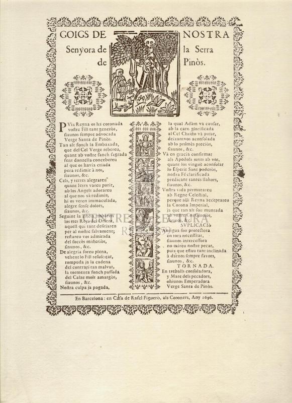 Goigs de Nostra Senyora de la Serra de Pinòs