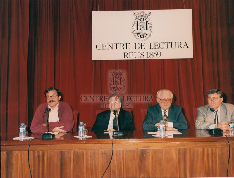 Visita de l'escriptor del mes d'octubre del 1996, Joaquim Molas