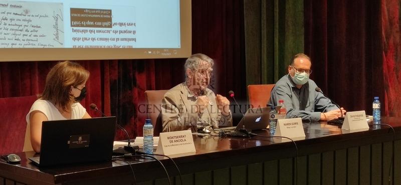 """Conferència """"Crònica dels Ferrater de Reus"""" a càrrec de Ramon Gomis"""