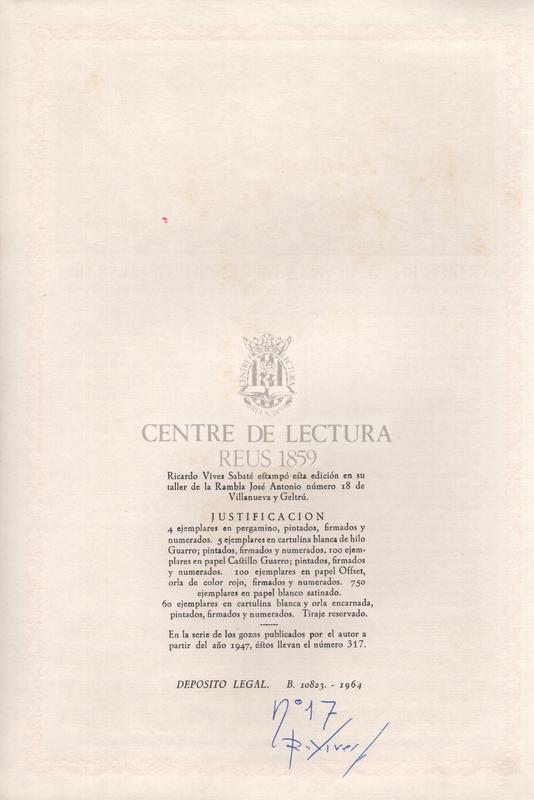 Gozos en alabanza de San Jorge, martir. Edicion patrocinada por la Excma. Diputacion Provincial de Barcelona