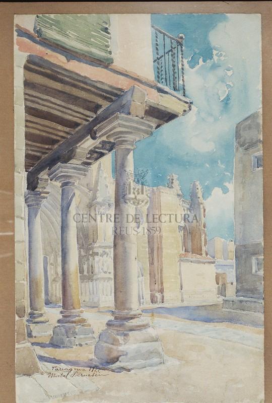 Tarragona, plaça catedral