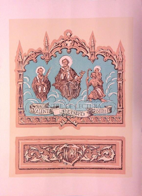 Gozos a los Bienaventurades Máritres San Pedro, San Cristóbal y San Valentín, patronos de la ciudad de Tarrasa