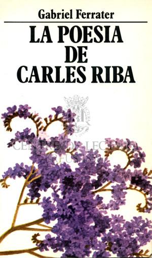 La Poesia de Carles Riba: cinc conferències