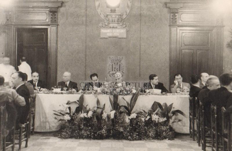 Sopar homenatge a Enric Aguadé Parés