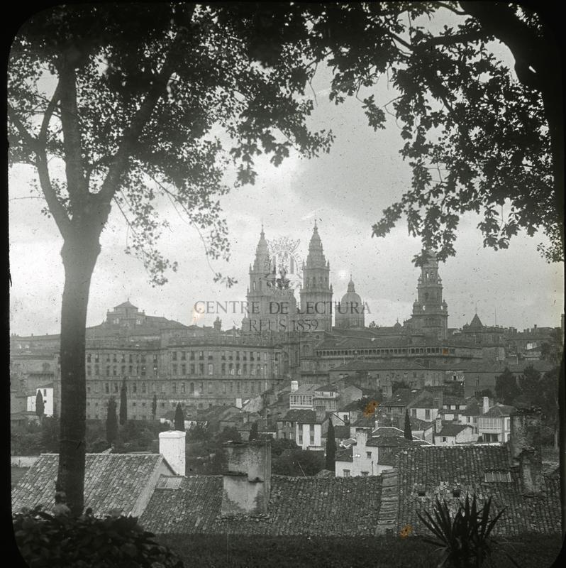 Vista de Santiago de Compostela (Galícia)