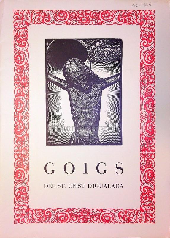 Goigs del St. Crist d'Igualada