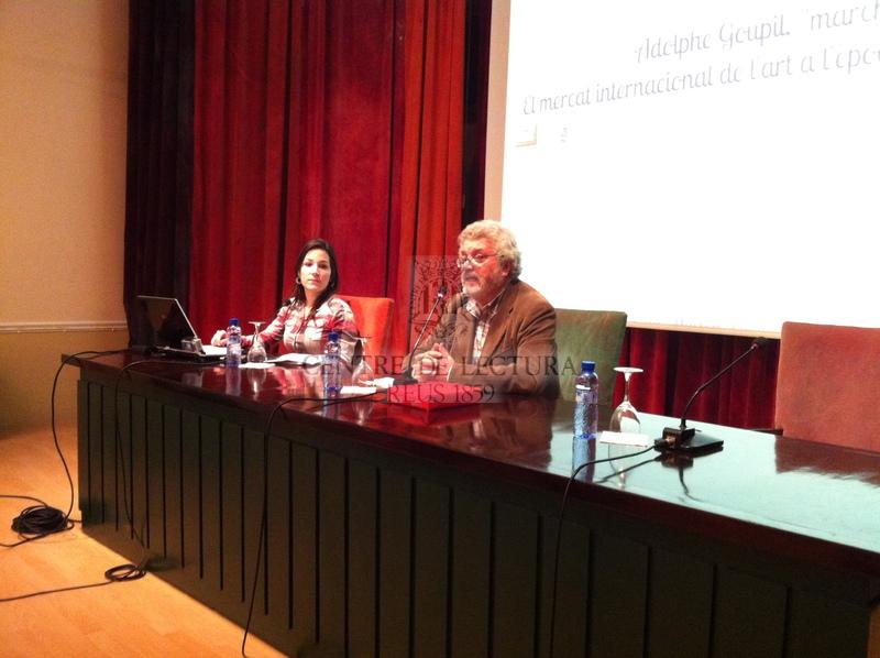 Alphonse Goupil, marxant: el mercat internacional de l'art a l'època de Marià Fortuny i Josep Tapiró : conferència