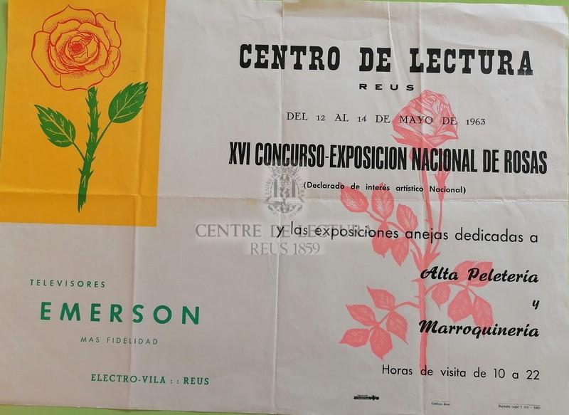 XVI Concurso-exposición nacional de rosas y las exposiciones anejas dedicadas a Alta peletería y Marroquinería