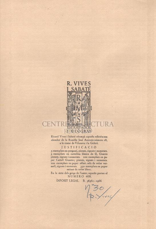 Goigs en lloança del glorios martir Sant Cristòfol venerat a la parroquia de Sant Cristòfol de Tosses del Bisbat d'Urgell