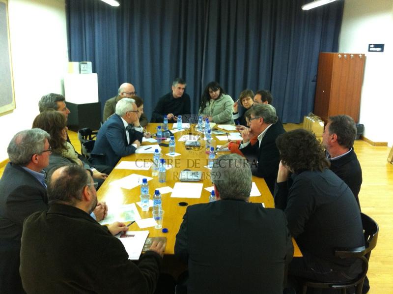 Acte institucional de recepció del Premi Nacional de Cultura 2013 al Centre de Lectura
