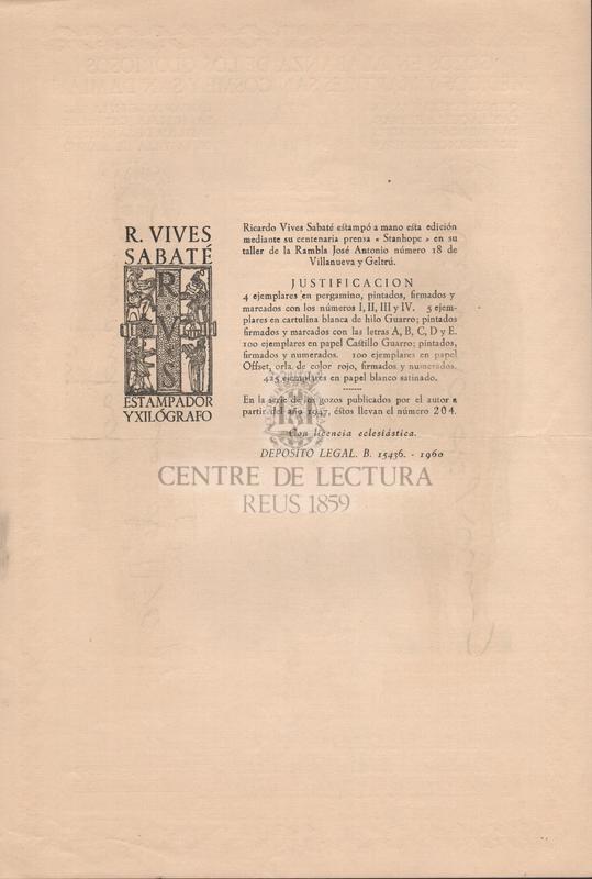 Gozos en alabanza de los gloriosos medicos y martires san Cosme y San Damian