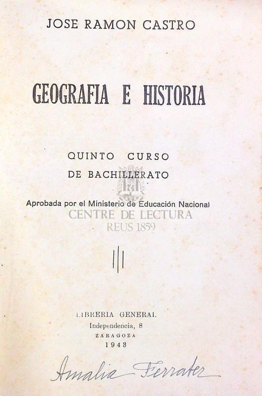 Geografía e historia: quinto curso de bachillerato