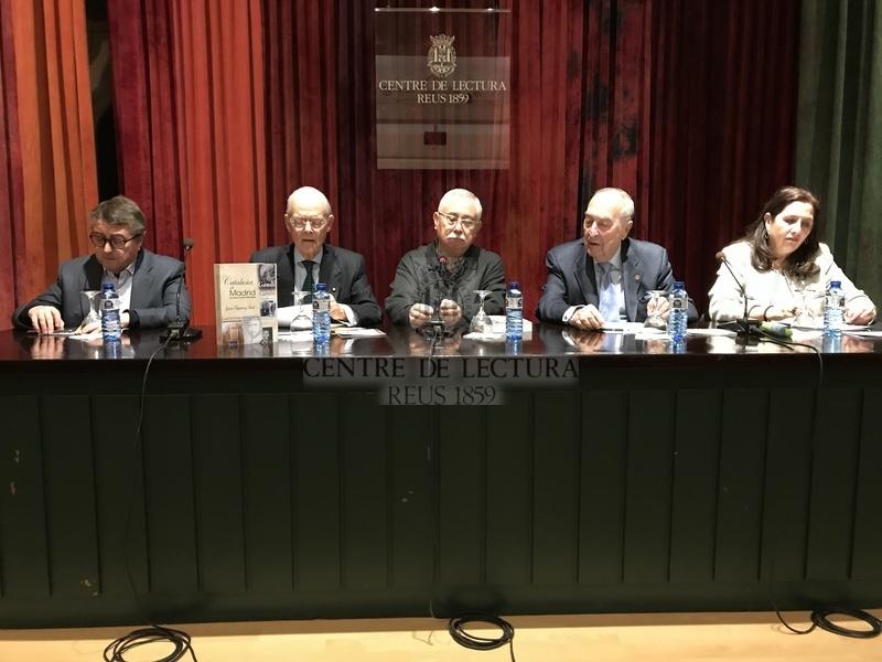 """Presentació del llibre """"Cataluña en Madrid. Una visión de Cataluña desde Madrid"""" d'Ignacio Buqueras Bach"""
