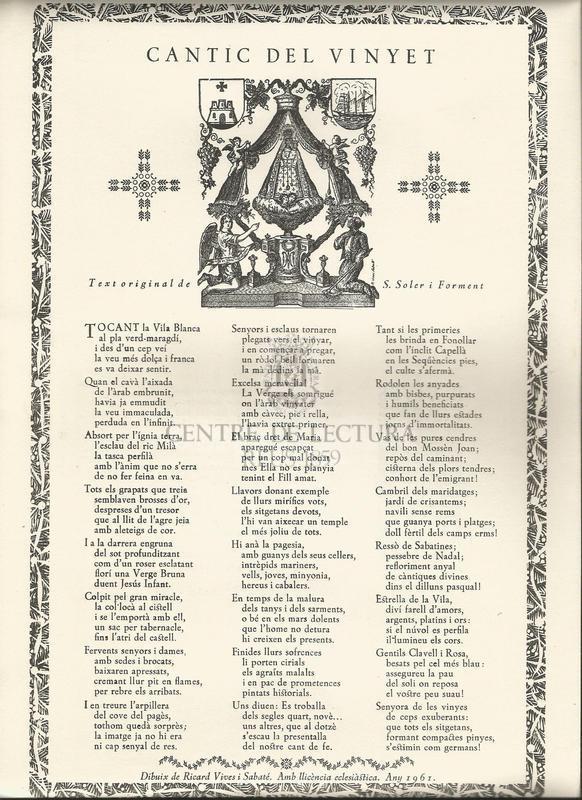 Cantic del Vinyet