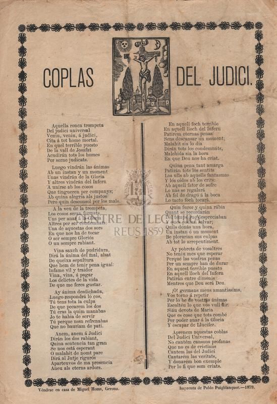 Coplas del Judici
