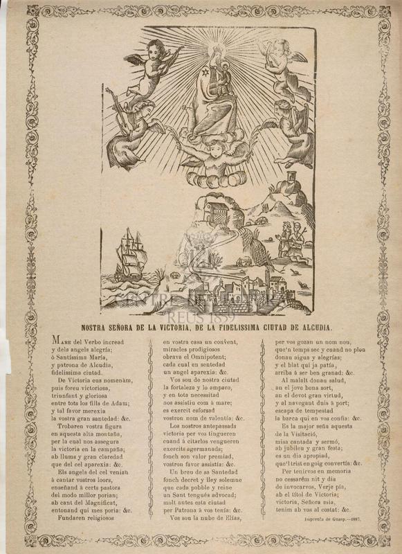Nostra Señora de la Victoria, de la fidelissima ciudad de Alcudia