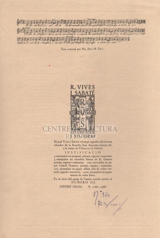 Goigs a honra lloança de Sant Ermengol, Bisbe de la Seu d'Urgell del Bisbat d'Urgell i Pont de Bar