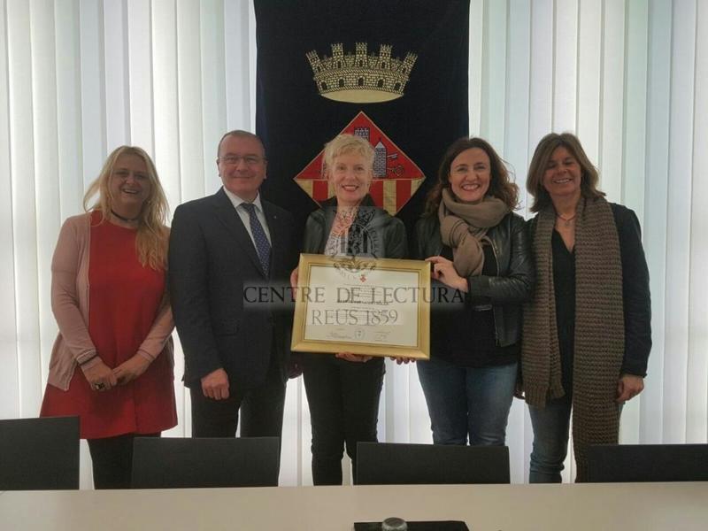 L'alcalde de Reus, present al nomenament del Gabriel Ferrater com a fill predilecte de Sant Cugat del Vallès