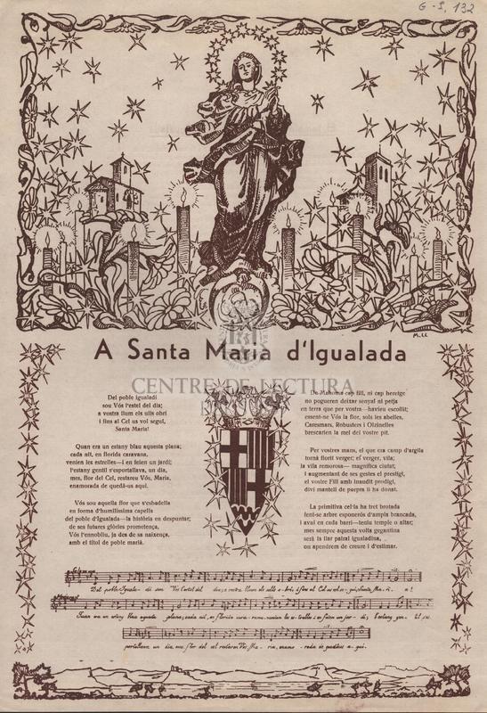A santa Maria d'Igualada.