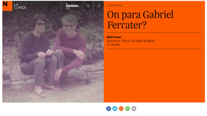 Fons Gabriel Ferrater i Soler